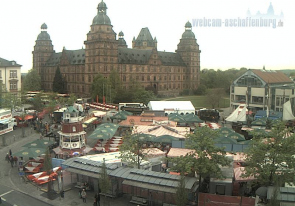 Web camera Germany, Aschaffenburg, Castle