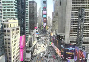 Web camera United States of America, New York, Times Square