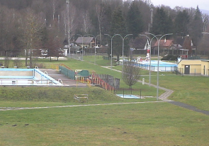 Web camera Czech, Sumava, Klatovy, Swimming pool