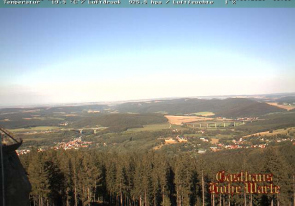 Web camera Germany, Thüringen, Elgersburg, Panorama