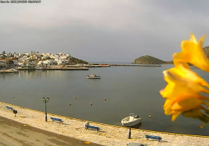 Web camera Greece, Andros island, Harbor