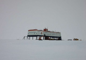 Web camera Antarctica, South Pole, Research Station