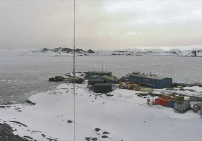 Web camera Antarctica, Anvers Island, Palmer Station, Research Station