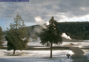 Web camera United States of America, Yellowstone National Park, Geyser