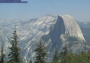 Web camera United States of America, California, Sentinel Dome, Mountain