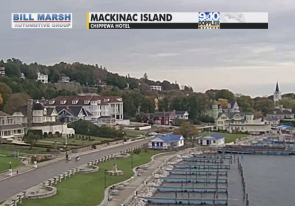 Web camera United States of America, Michigan, Mackinac, Street