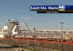 Web camera United States of America, Michigan, Sault Ste. Marie, Panorama