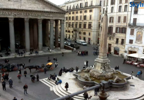 Web camera Italy, Lazio, Rome, Pantheon