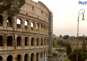 Web camera Italy, Lazio, Rome, Colosseum