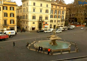Web camera Italy, Lazio, Rome, Barberini Square