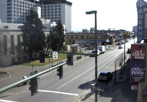 Web camera United States of America, Alaska, Anchorage, Street