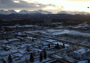 Web camera United States of America, Alaska, Anchorage, Panorama