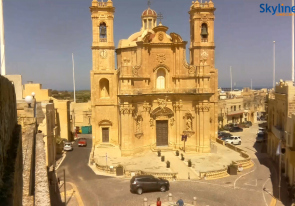 Web camera Malta , Gozo, Church
