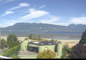 Web camera Canada, British Columbia, Vancouver, Panorama