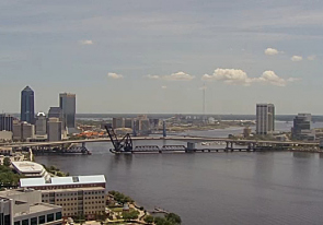 Web camera United States of America, Florida, Jacksonville, Panorama