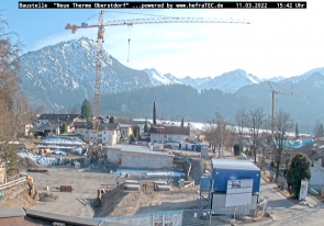 Web camera Germany, Oberstdorf, Building
