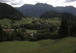 Web camera Germany, Oberstdorf, Tiefenbach, Panorama