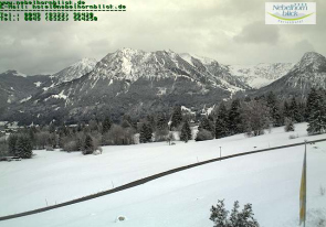 Web camera Germany, Oberstdorf, Kornau, Panorama