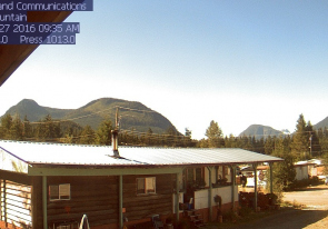 Web camera Canada, British Columbia, Vancouver Island, Woss mountain