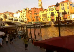 Web camera Italy, Veneto, Venice, Rialto Bridge