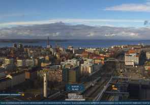 Web camera Finland, Tampere, Panorama