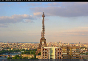 Web camera France, Paris, Eiffel tower