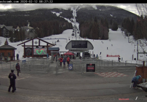 Web camera Canada, British Columbia, Whistler Blackcomb, Ski Resort