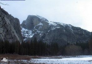 Web camera United States of America, California, Yosemite National Park, Half Dome