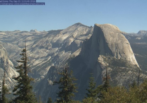 Web camera United States of America, California, Yosemite National Park, Tenaya Peak