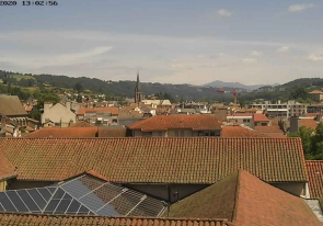 Web camera France, Aurillac, Panorama
