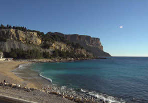 Web camera France, Cassis, Beach