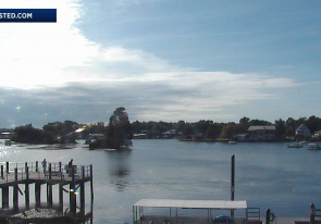Web camera United States of America, Florida, Crystal River, Panorama