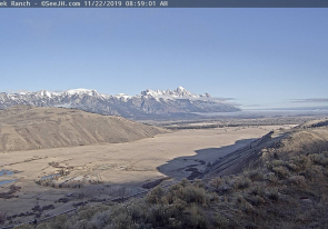Web camera United States of America, Wyoming, Jackson, Panorama