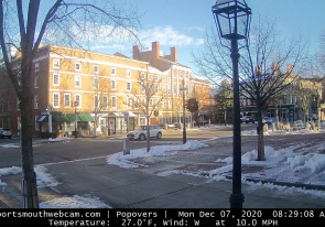Web camera United States of America, New Hampshire, Portsmouth, Square