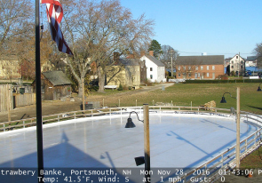 Web camera United States of America, New Hampshire, Portsmouth, Panorama